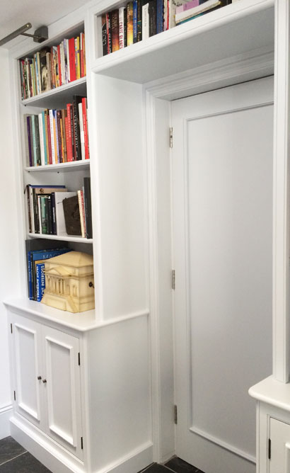 Bespoke Library - Artisans and Artists | Interior Design Consultants | Ashburton Devon | London | Bath