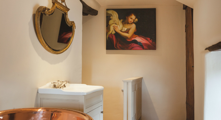 Manor House Master Ensuite - Artisans and Artists | Interior Design Consultants | Ashburton Devon | London | Bath