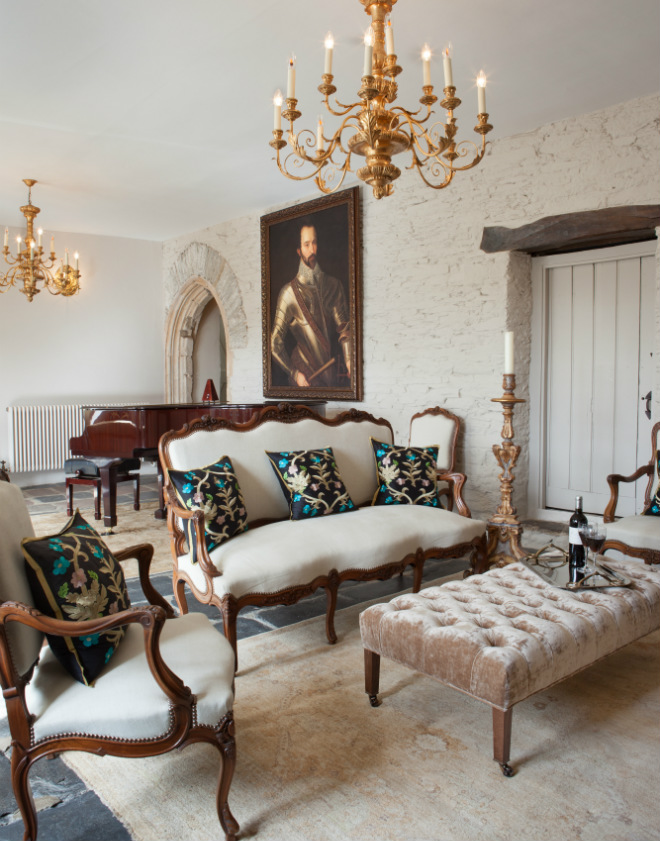 Medieval Manor House Great Hall - Artisans and Artists | Interior Design Consultants | Ashburton Devon | London | Bath