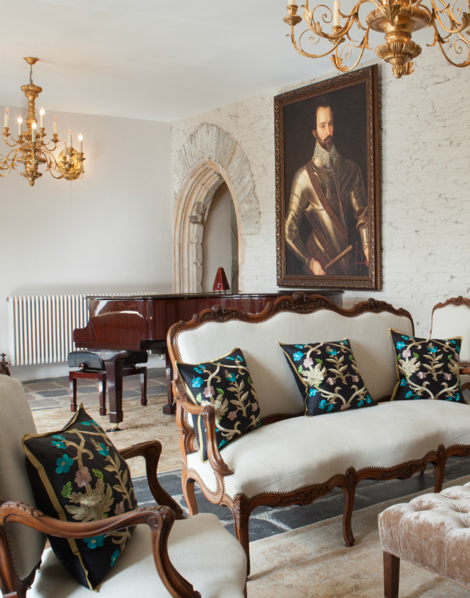 A Great Hall by Artisans and Artists | Interior Design Consultants | Ashburton Devon | London | Bath