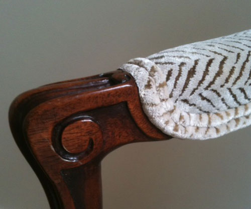 Antique Furniture Re-Upholstery - Artisans and Artists | Interior Design Consultants | Ashburton Devon | London | Bath