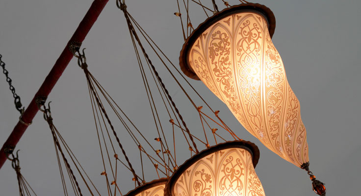 Venetian Lighting - Artisans and Artists | Interior Design Consultants | Ashburton Devon | London | Bath